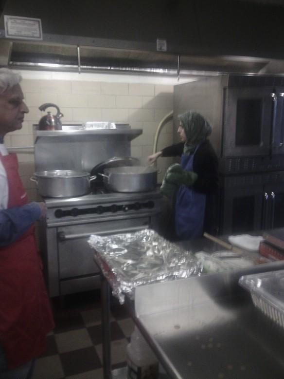 Zamir Hassan with Zehra Toor