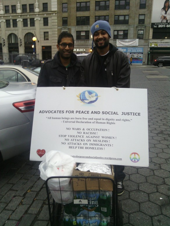 APSJ Members Naved Husain and Razeeb Hossain